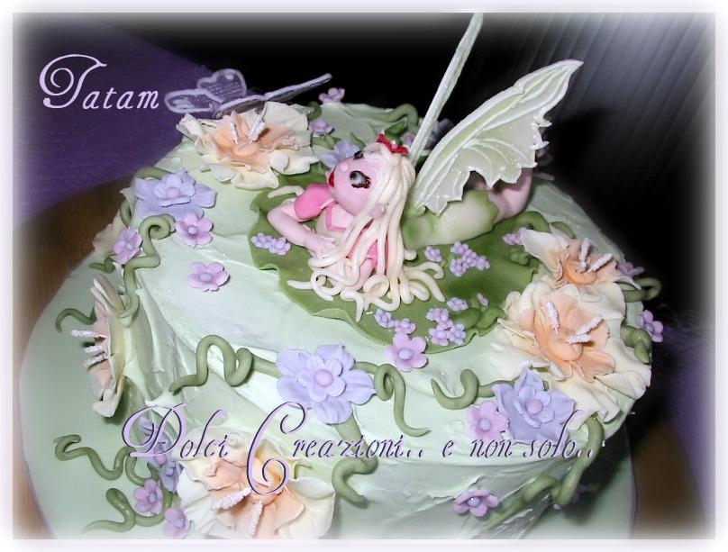 Torta Fatina dei Fiori | Fairy Flowers Cake