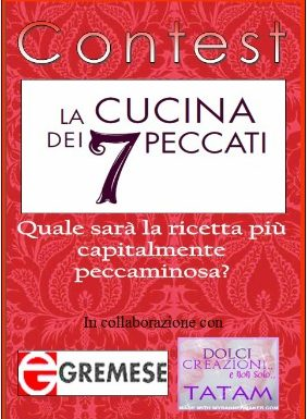 """Contest """"La Cucina dei 7 Peccati"""""""