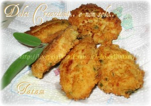 crocchette di patate zucchine