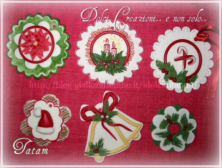 Decorazioni di natale dolci creazioni e non solo tatam - Decorazioni natalizie per dolci ...
