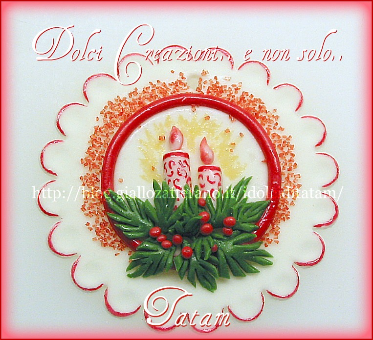 Decorazioni di natale dolci creazioni e non solo tatam for Decorazioni torte 2d
