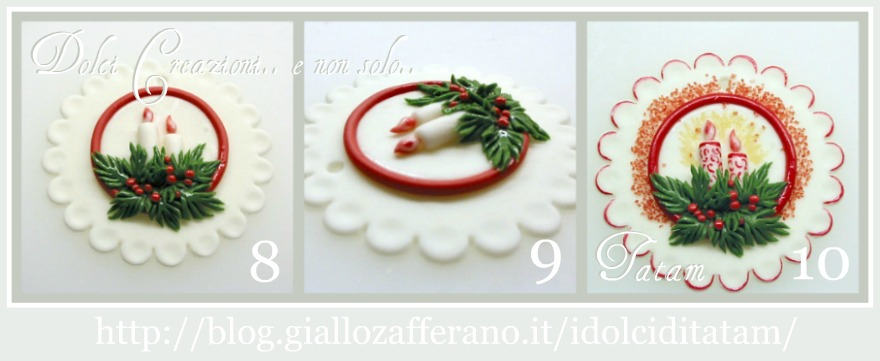 Come realizzare decorazioni natalizie in pasta di zucchero - Decorazioni natalizie per dolci ...