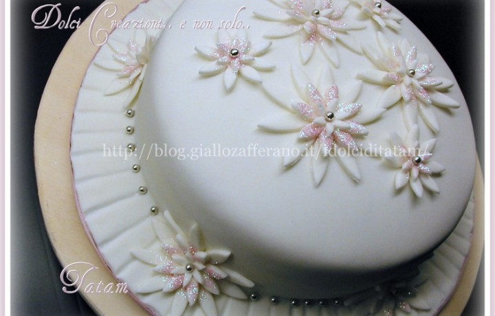 Pink Daisies's Cake