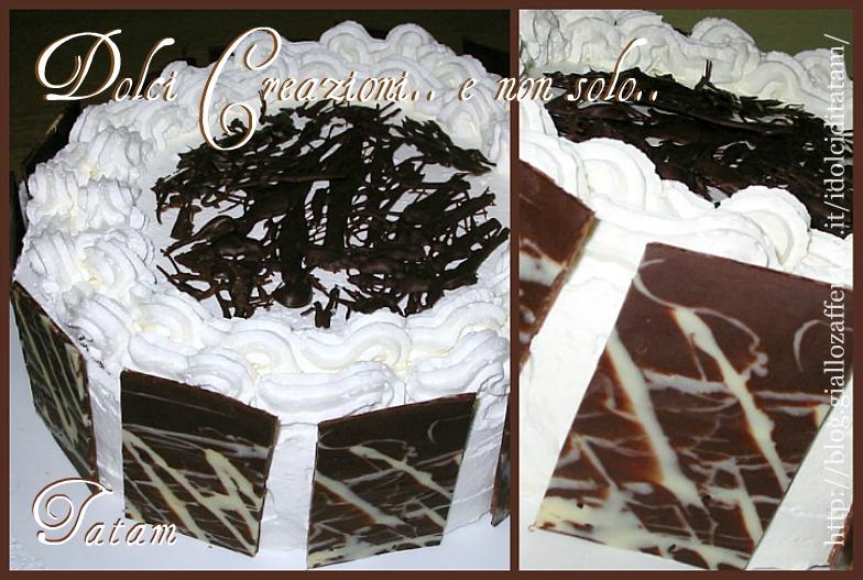 Torta delizia al cioccolato e arancia