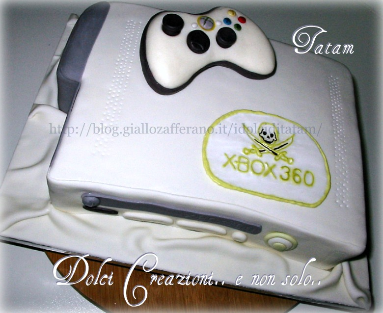 X-Box 360 Cake