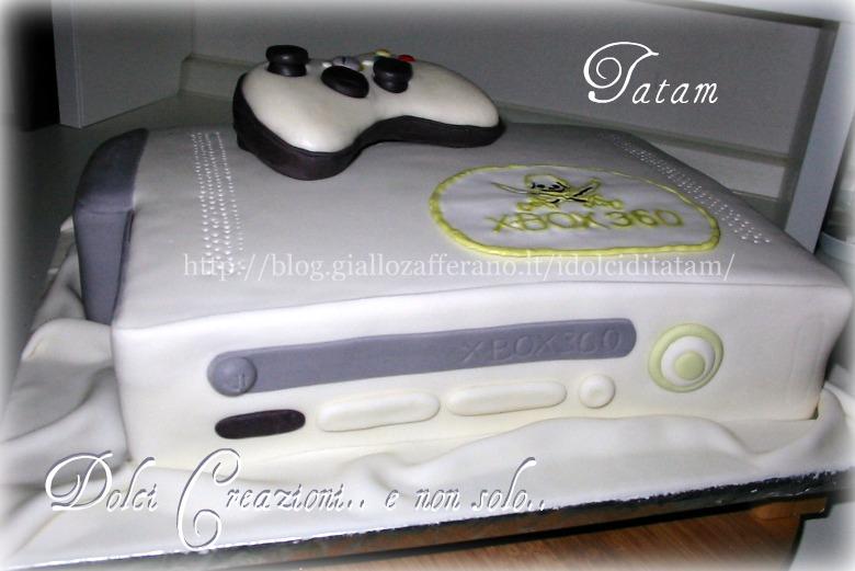 X Box 360 Cake | Torte Decorate | Dolci Creazioni.. e non solo.. tatam