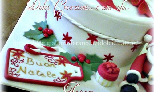 Christmas Cake Gift | torta decorata