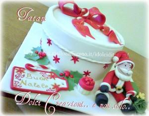 christmas box cake 3