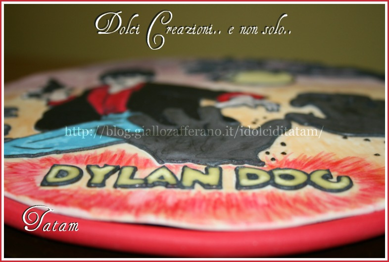 Torta Dylan Dog | torta decorata