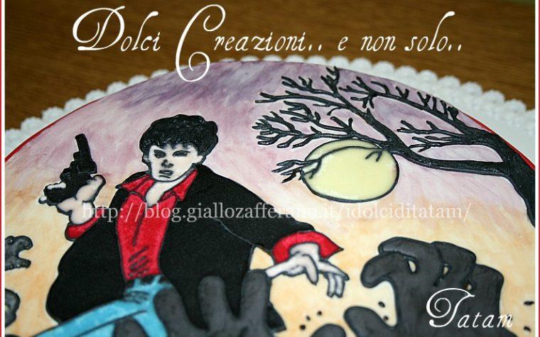 Torta Dylan Dog | torta decorata