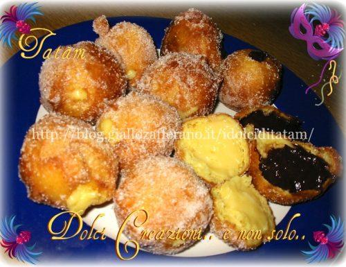 Frittole ripiene alla crema | ricetta dolci di carnevale