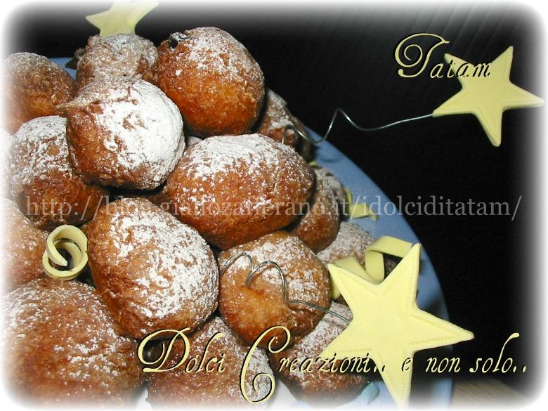 Frittelle con uvetta sultanina ubriaca | ricetta per carnevale