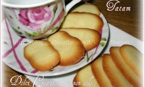 Lingue di Gatto, ricetta base facile e veloce