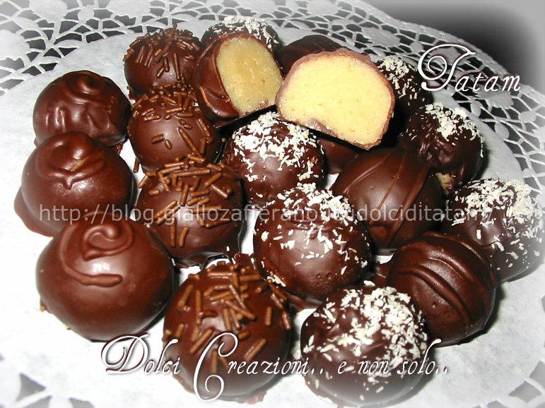 Tartufi al cioccolato Chocolate truffles