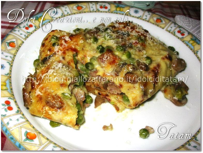 Pasticcio di crepes |ricetta gustosa
