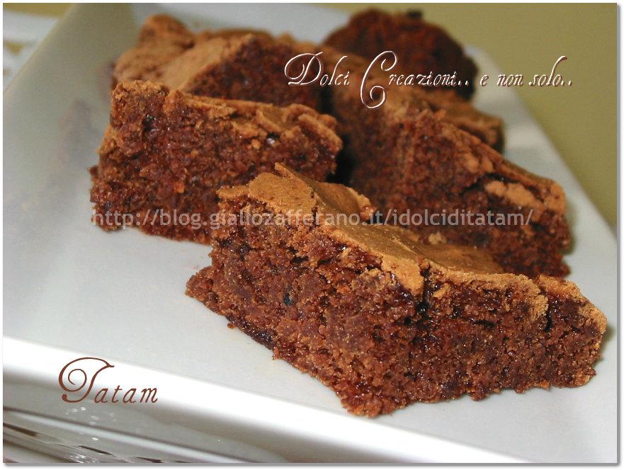 brownies frutti bosco