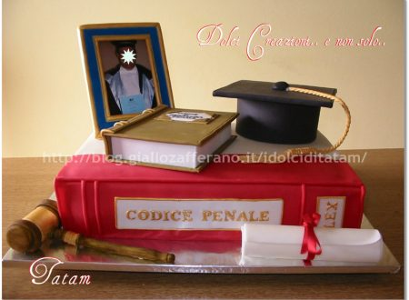 Torta Decorata Laurea