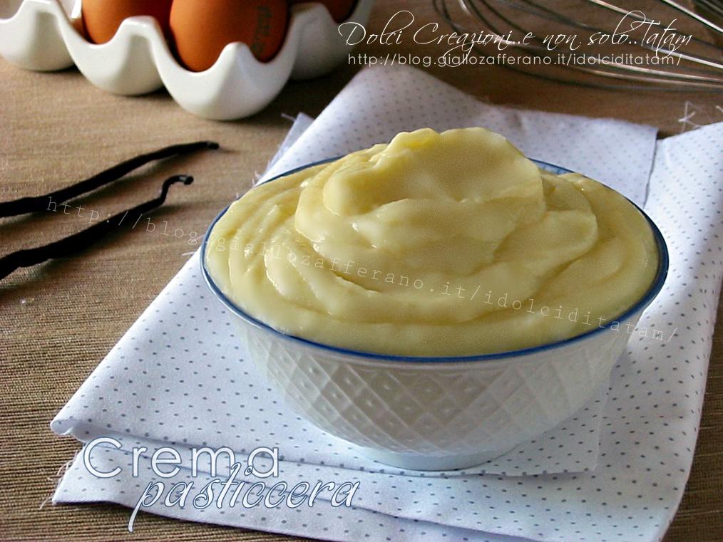 Crema Pasticciera con uova intere