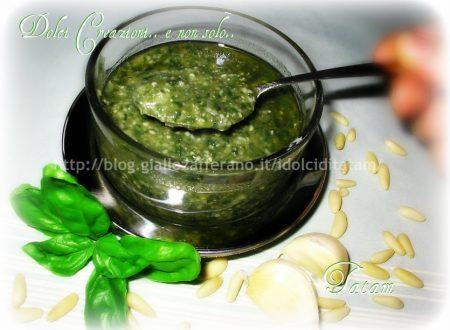 Pesto al Basilico | ricetta base