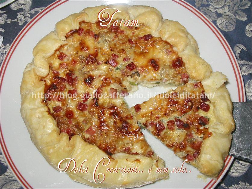 Ricette pasta sfoglia gorgonzola