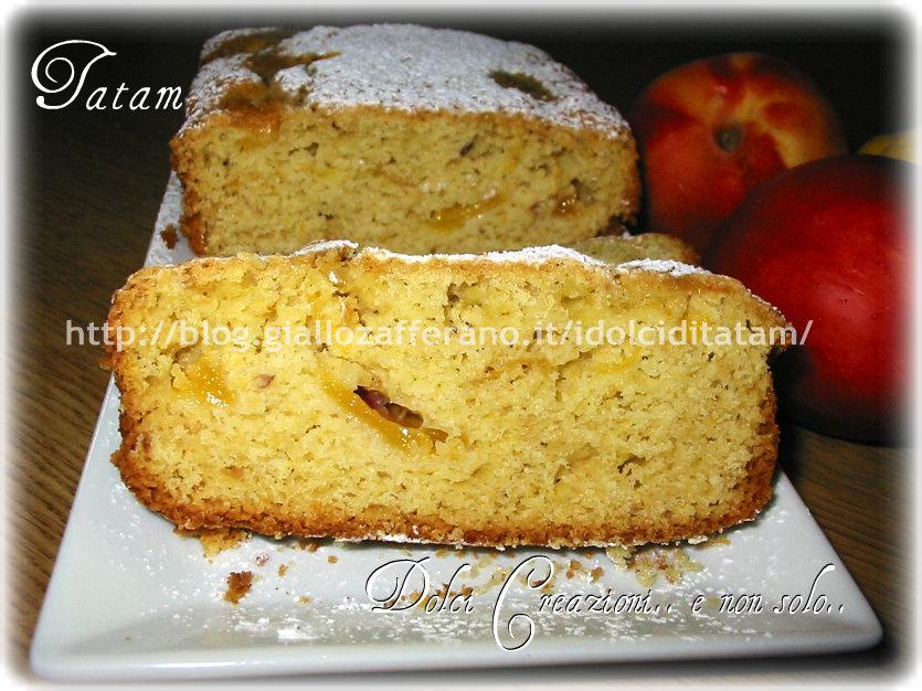 Plum cake alle pesche