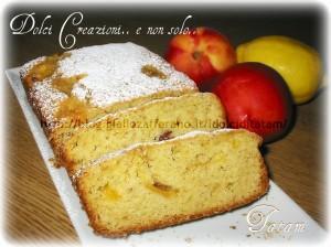 plum cake pesche