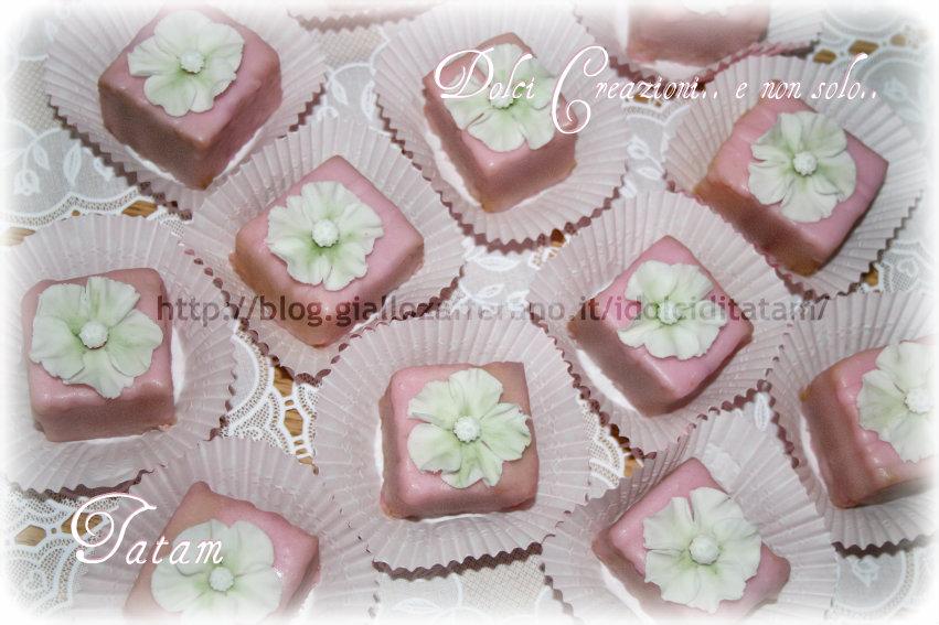 Petit Fours dolcetti glassati