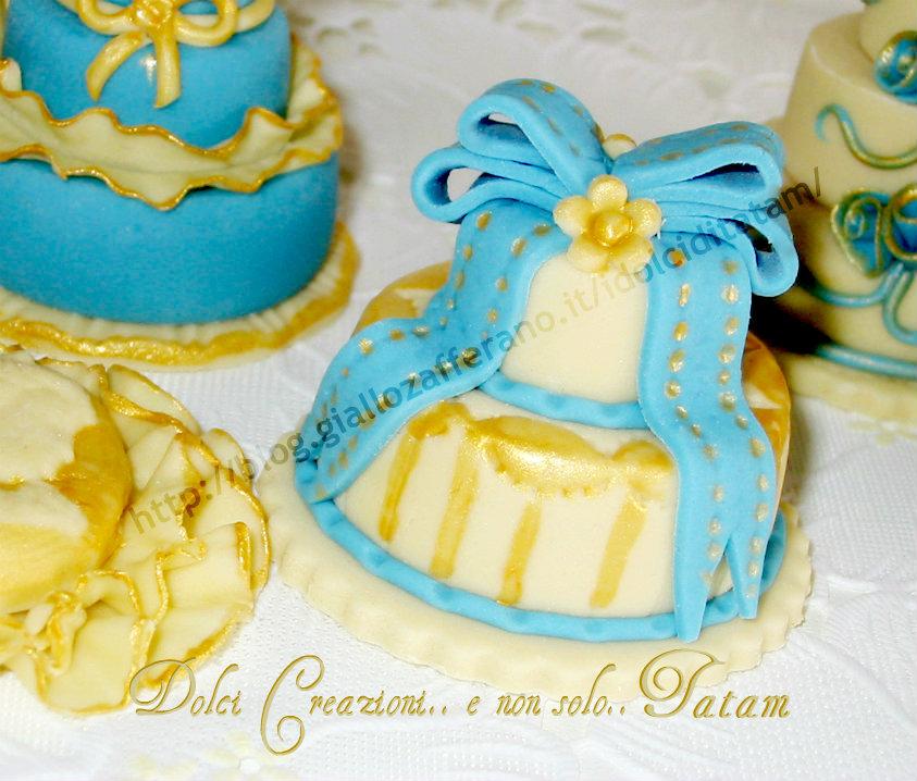 Miniature Cake Stile Barocco Dettagli che fanno la differenza