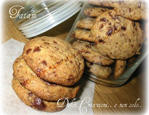 Biscotti con gocce di cioccolato Chocolate Chips Cookies