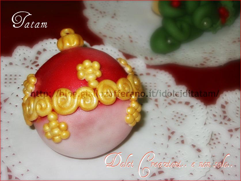 Christmas Cake Ball Palle di Natale da mangiare