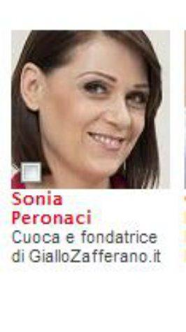 Sonia Peronaci personaggio dell'anno 2012