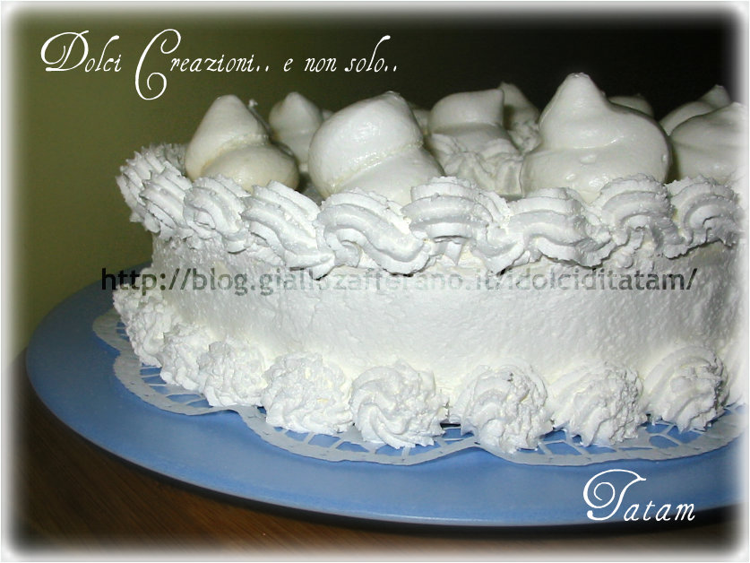 torta meringata al cioccolato