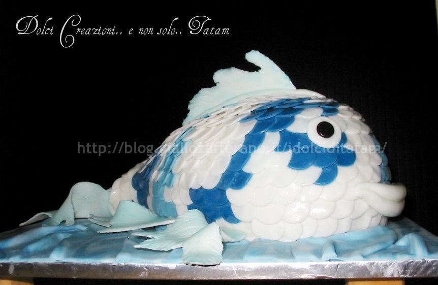 torta carpa koi 1
