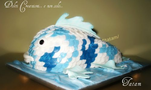 Torta Carpa Koi | torta decorata