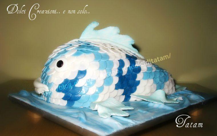 Torta Carpa Koi | torta decorata