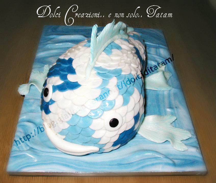 torta carpa koi 3