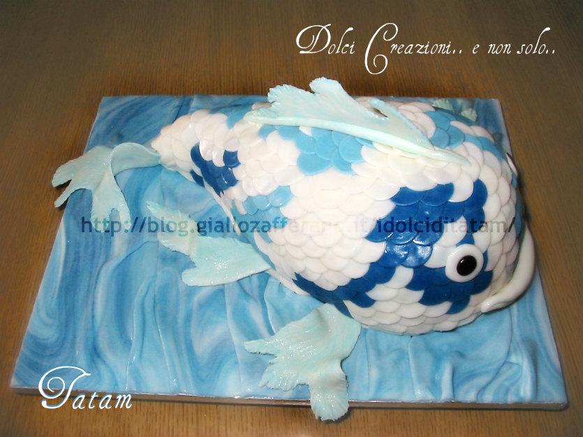 torta carpa koi 4