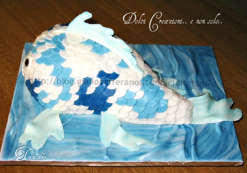 torta koi fish cake 1