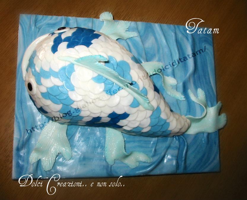 torta koi fish cake