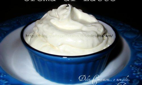Crema di Latte ricetta base