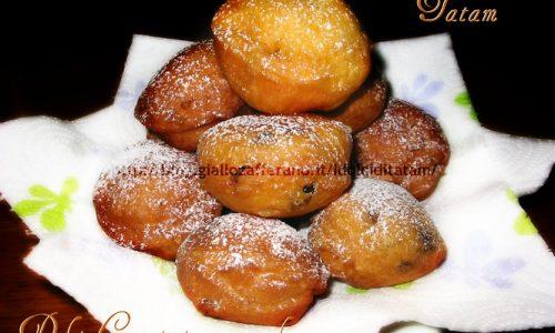 Frittelle alla arancia o Tortelli fritti di Carnevale