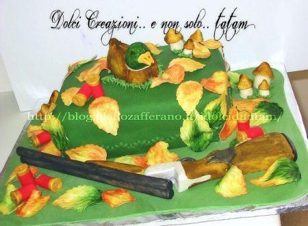Torta Cacciatore | torta decorata