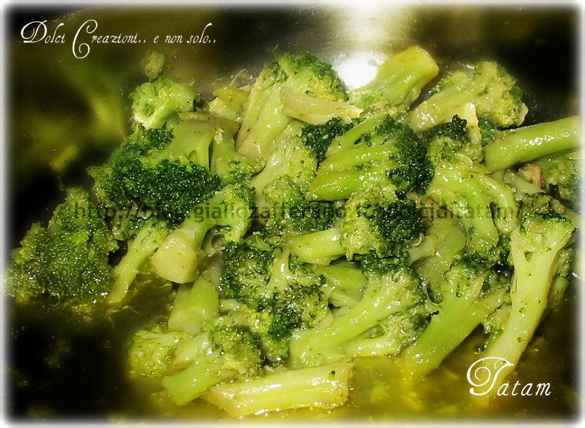 Broccoli saltati