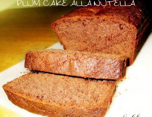 Plum Cake alla Nutella e Miele