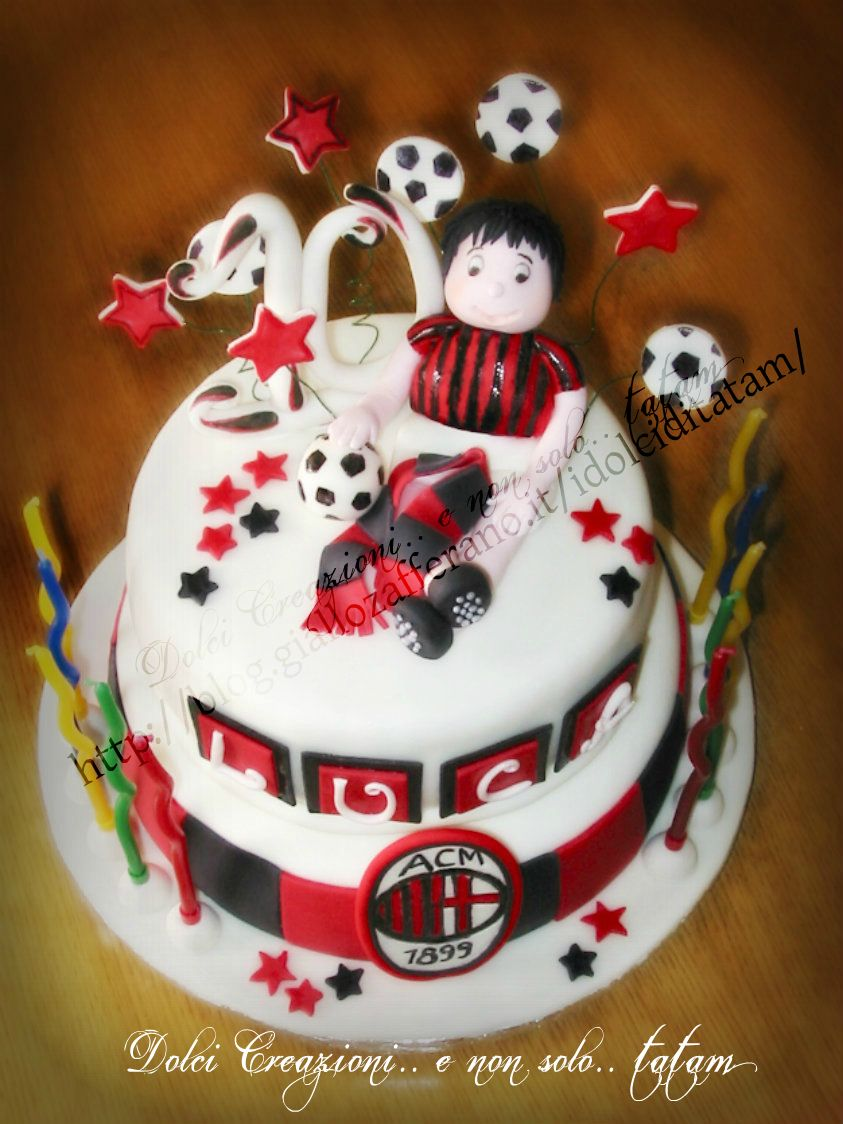 milan birthday cake
