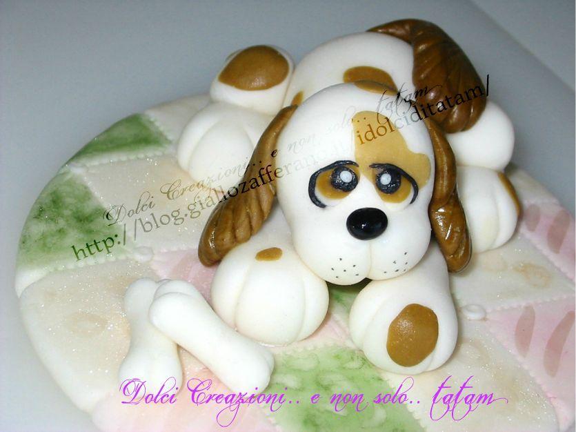 Cagnolino Cake Topper