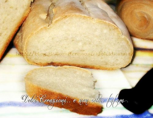 Pane Comune con Lievito Madre
