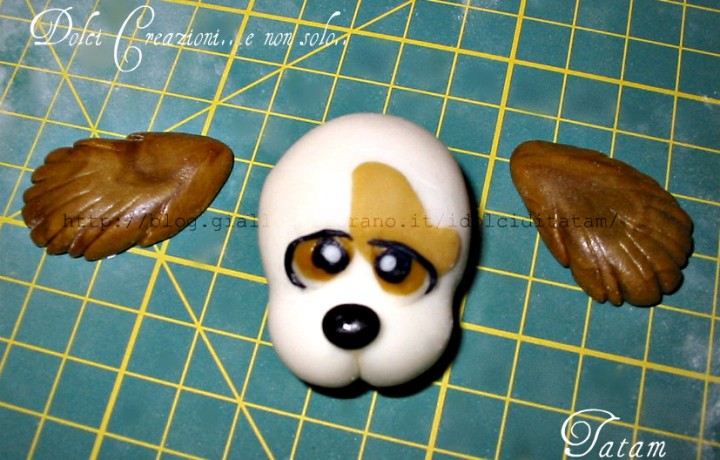 Come fare un cane in pasta di zucchero | tutorial cake topper