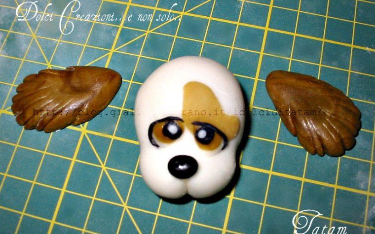 Come fare un cane in pasta di zucchero | tutorial cake topper
