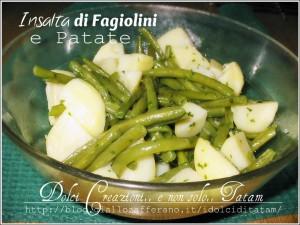 Insalata fagiolini patate